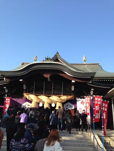 初詣(出雲大社)