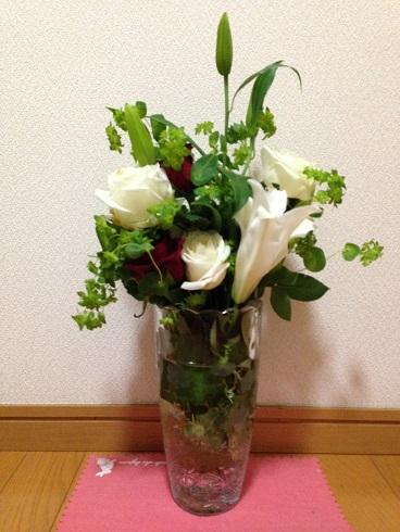 いずみ中央メンタルクリニックからお花をいただきました