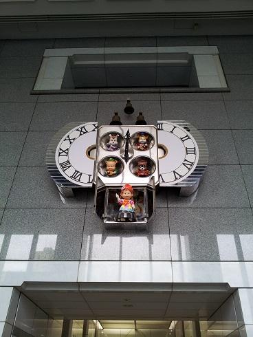 時計が(変化後)