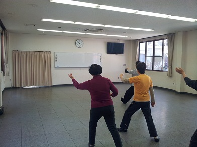 第18回太極拳教室
